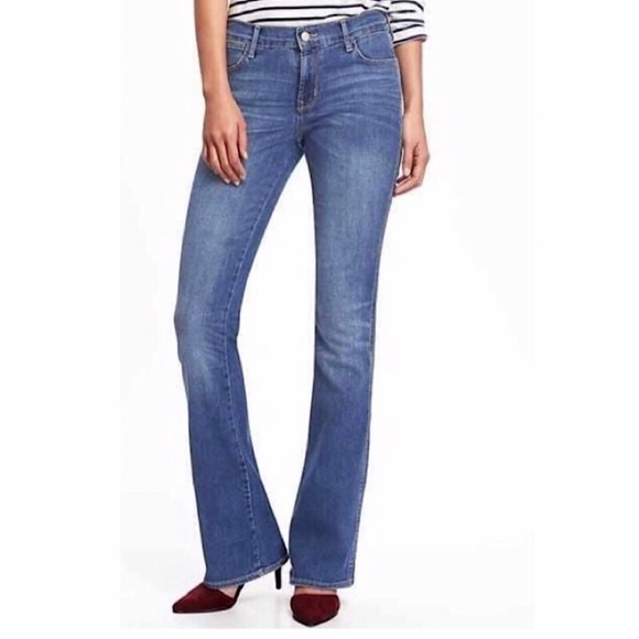 Old Navy Denim - OLD NAVY *NWT* Mid-Rise Micro Flare Jeans - WMN 14